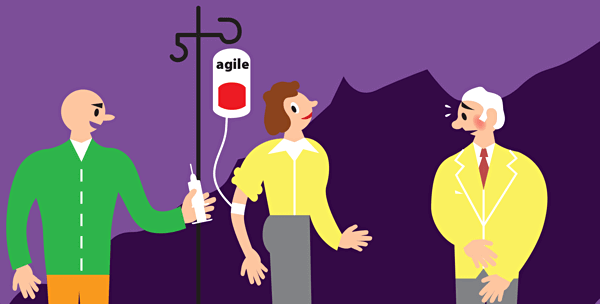 agile with architectuur